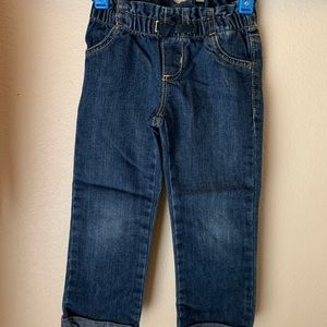 Toddler girl Paperbag jeans 3T